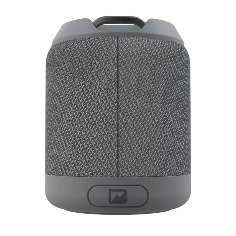 Braven - Parlante portátil brv-mini waterproof con bt gris
