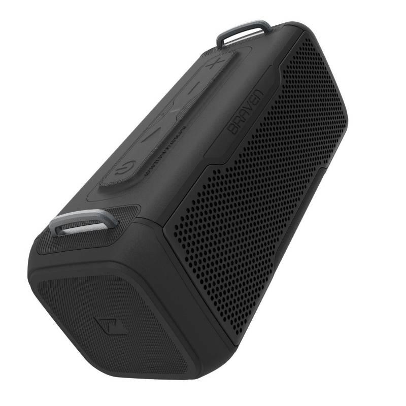 Braven - Parlante portátil brv-x/2 waterproof con bt negro