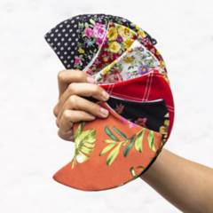 Clarissa Rosania - Set X 7 Tapabocas De Mujer  Diseño Oasis
