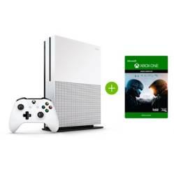 Xbox - Consola Xbox One S 1TB + Control + Juego Halo