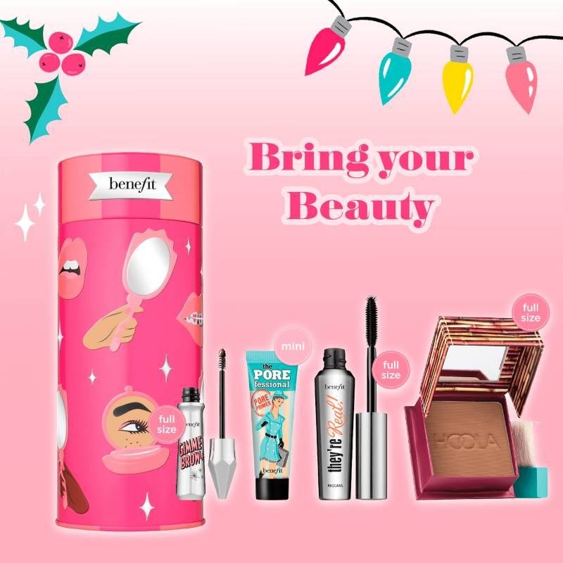 Benefit - Estuche Navidad Benefit Bring Your Own Beauty