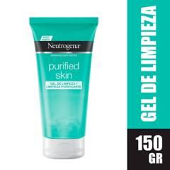 Neutrogena - Gel de limpieza Neutrogena purified skin x 150 ml