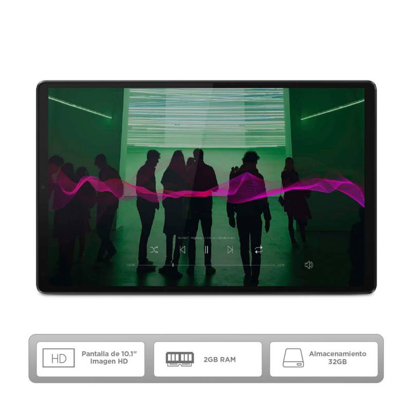 Lenovo - Tablet Lenovo M10 TB-X306F 10 pulgadas 32GB