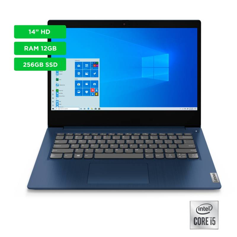 Lenovo - Portátiles Lenovo 14 pulgadas Intel Core i5 12GB 256GB