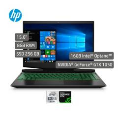 HP - Portátil Gamer HP Pavilion Gamin Laptop 15.6 pulgadas Intel Core i5 8GB 256GB