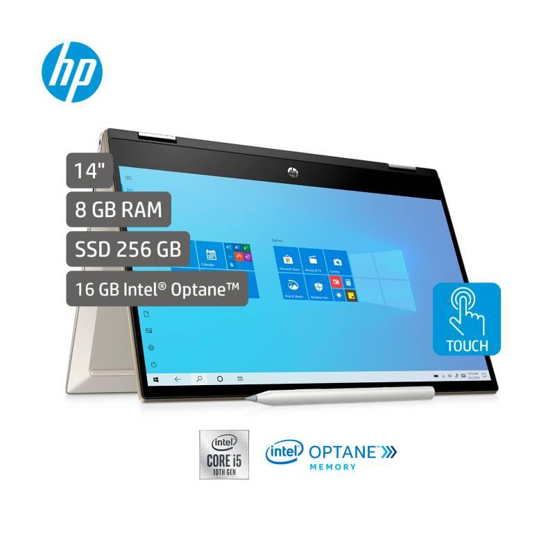 HP - Portátil 2 en 1 HP Pavilion Convertible 14 pulgadas Intel Core i5 8GB 256GB