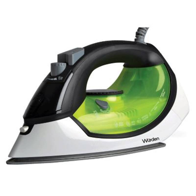 Wurden - Plancha a vapor Wurden WIRON-1000CER Verde