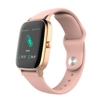 smartwatch multitech con termómetro
