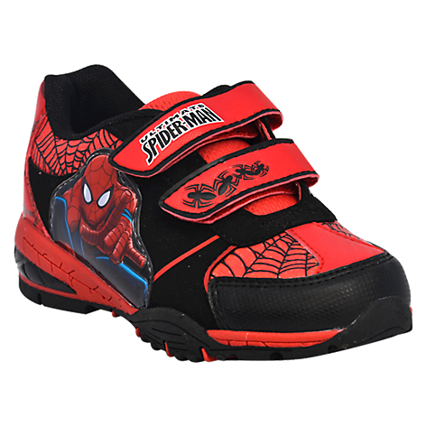 Favoritos Luz Personajes Spiderman Niño Zapatilla QxhdCtsr