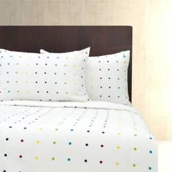 Benetton - Funda de Duvet Algodón Dots