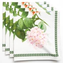 Set X 4 Servilletas Botánico 45 x 45