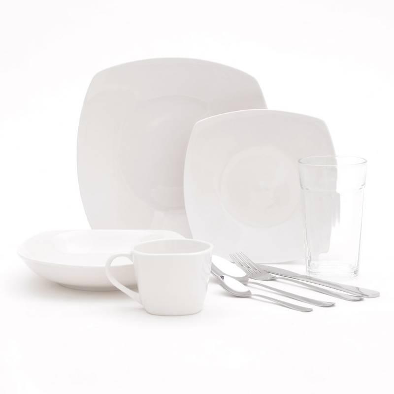Mica - Juego de Vajilla 60Pzs Porcelana