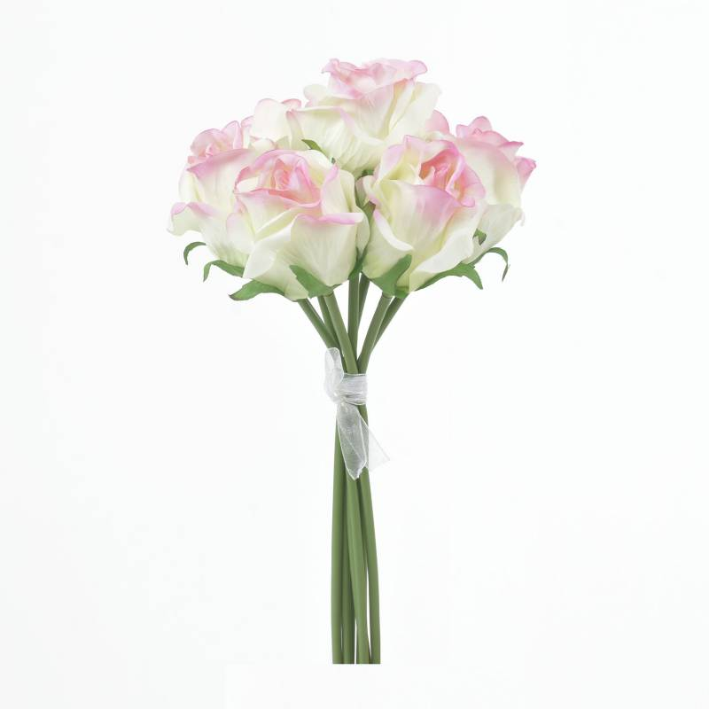 Mica - Bouquet x 7 Rosacrem