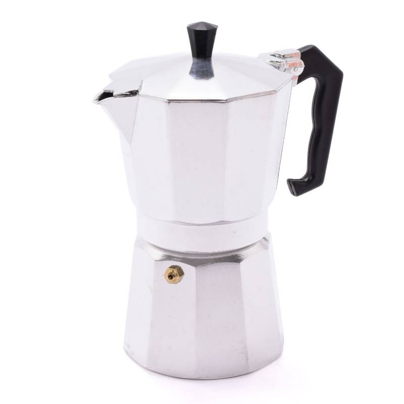Mica - Cafetera 6 tazas Aluminio