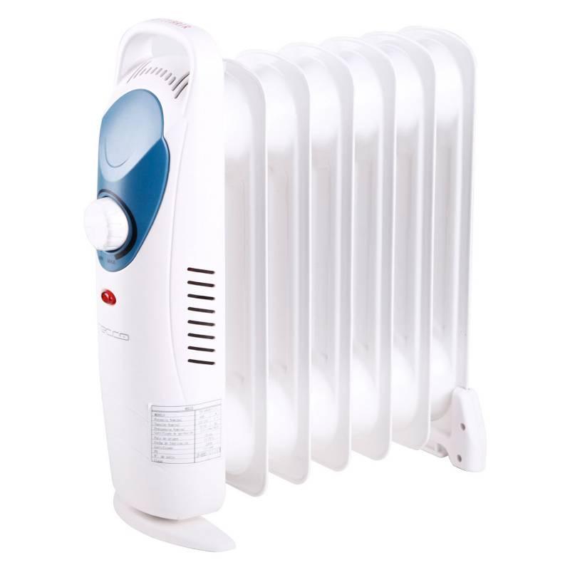 Recco - Calefactor Oleoeléctrico 600W Df-600H1-7