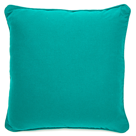 Funda Cojin Liso Cushion Azul