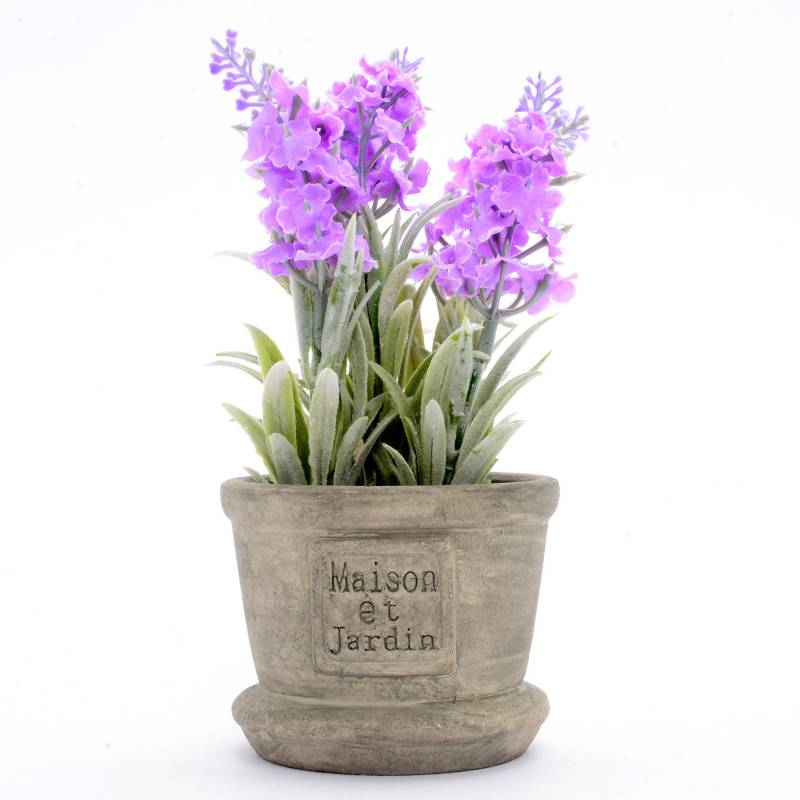 Mica - Pot Flores Lila 18 cm