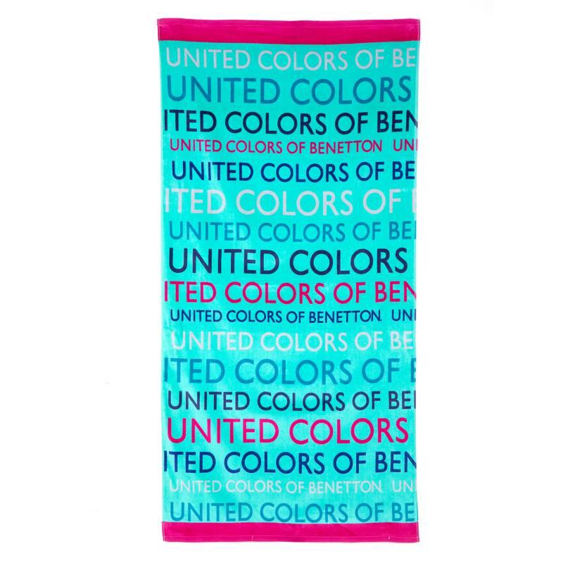 Benetton - Toalla de Playa Logos