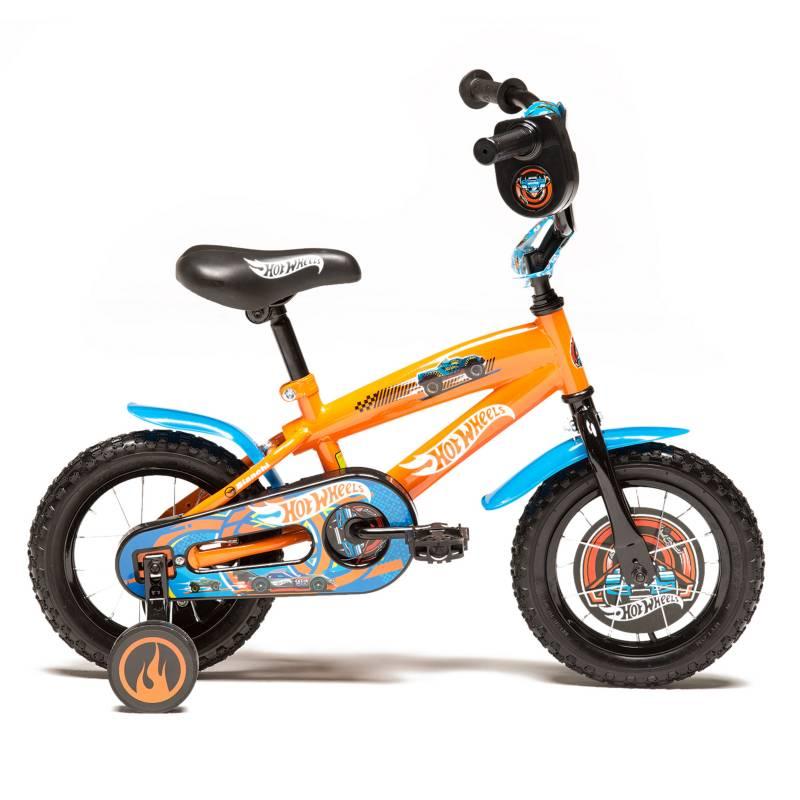 Hot wheels - Bicicleta Infantil Hot Wheels V19 12 Pulgadas