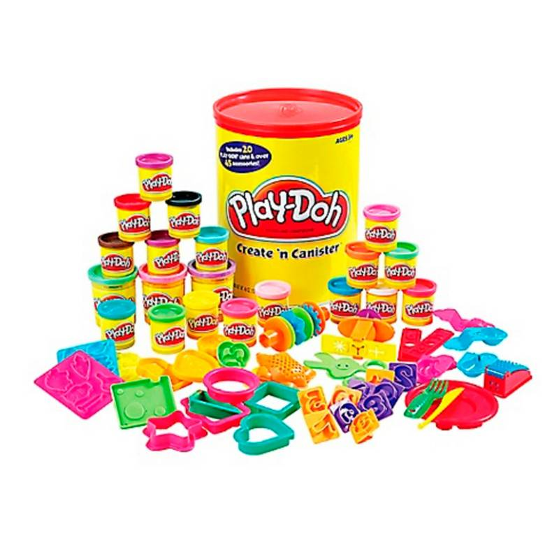 Play Doh - PD CREATE N CANISTER