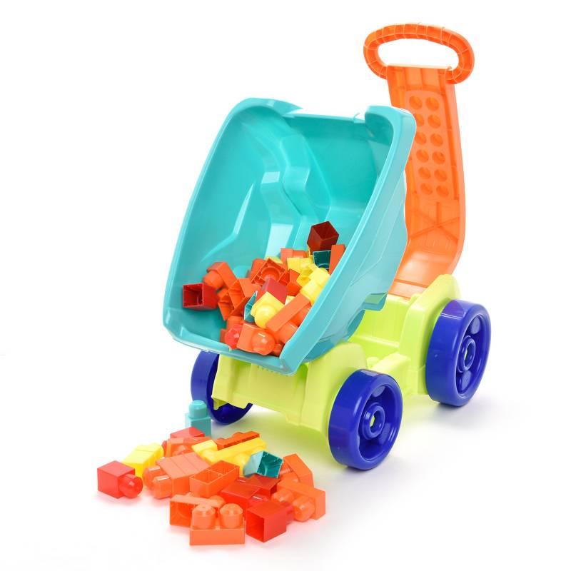 Build Me Up Maxi - Wagon con 70 Bloques