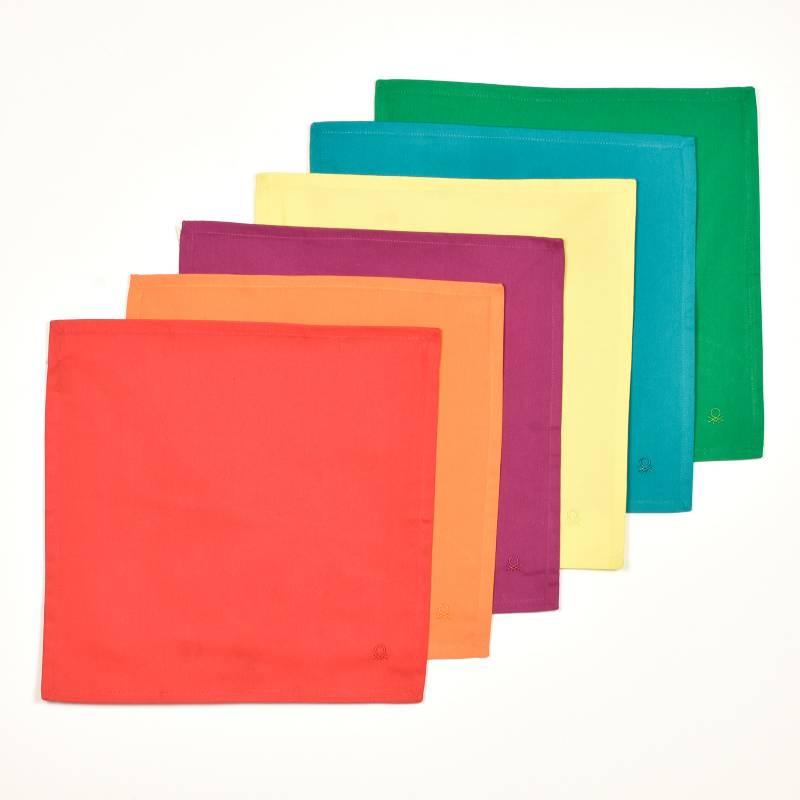 Benetton - Set x 6 Serv Color Benetton