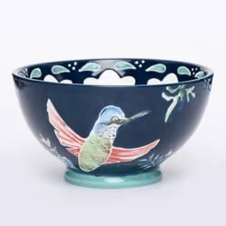 Roberta Allen - Bowl Colibrí Azul