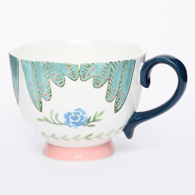 Roberta Allen - Mug Colibrí Azul
