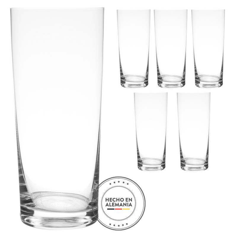 Schott Zwiesel - Juego de Vasos 6 Piezas Whisky Basic Bar