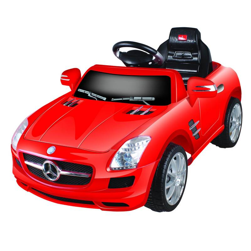 Mercedes Benz - Auto Eléctrico Mercedes Rojo