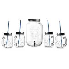 Mica - Dispensador + 4 vasos