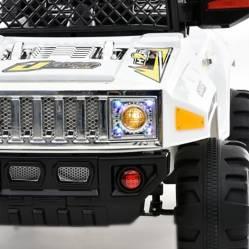 Scoop - Auto a Batería tipo jeep Blanco