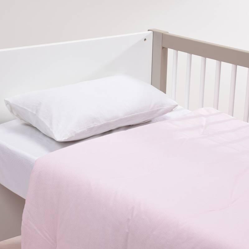Mica Kids - Plumón Sintético Cuna Pink Skirt