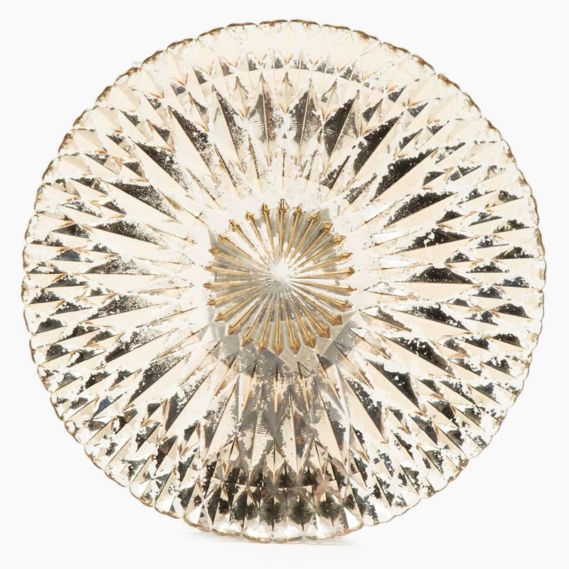Roberta Allen - Plato de Base Crystal Gold