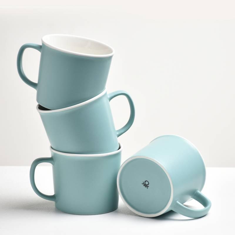 Benetton - Set x4 Mug Menta