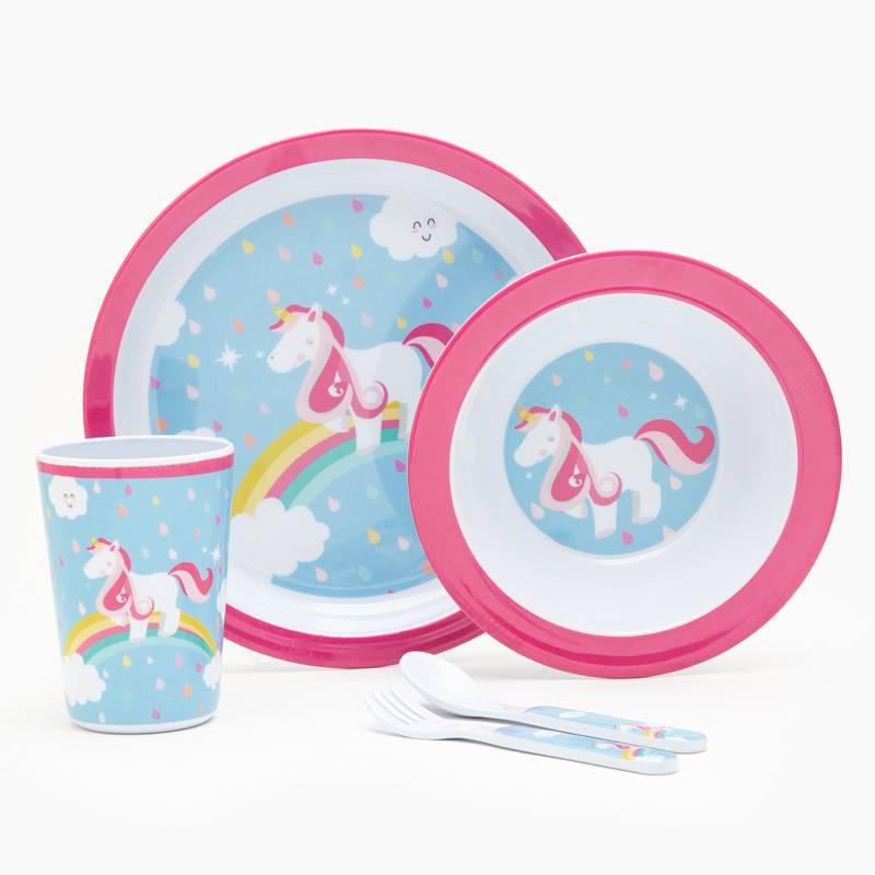 Mica Kids - Set x 5 Piezas Unicornio