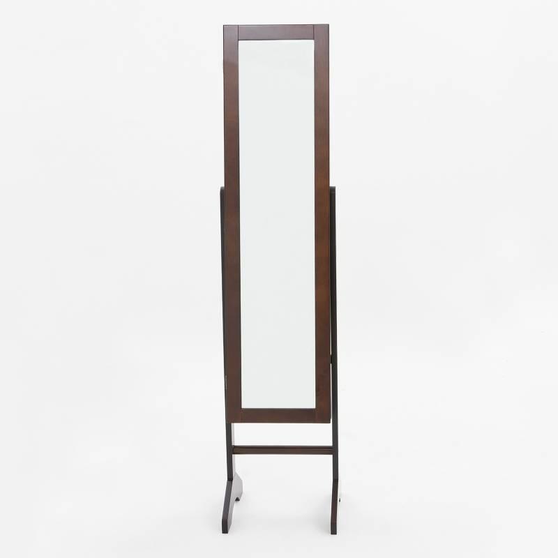 Mica - Espejo Joyero Café 35.2 x 35 x 153 cm