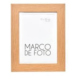 Marco de Foto Plano +  Borde Natural 13X18 cm