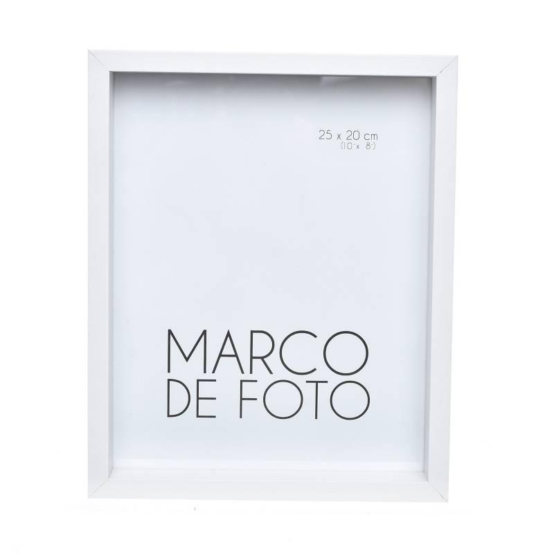 Mica - Marco de Foto Cajón Blanco 20X25 cm