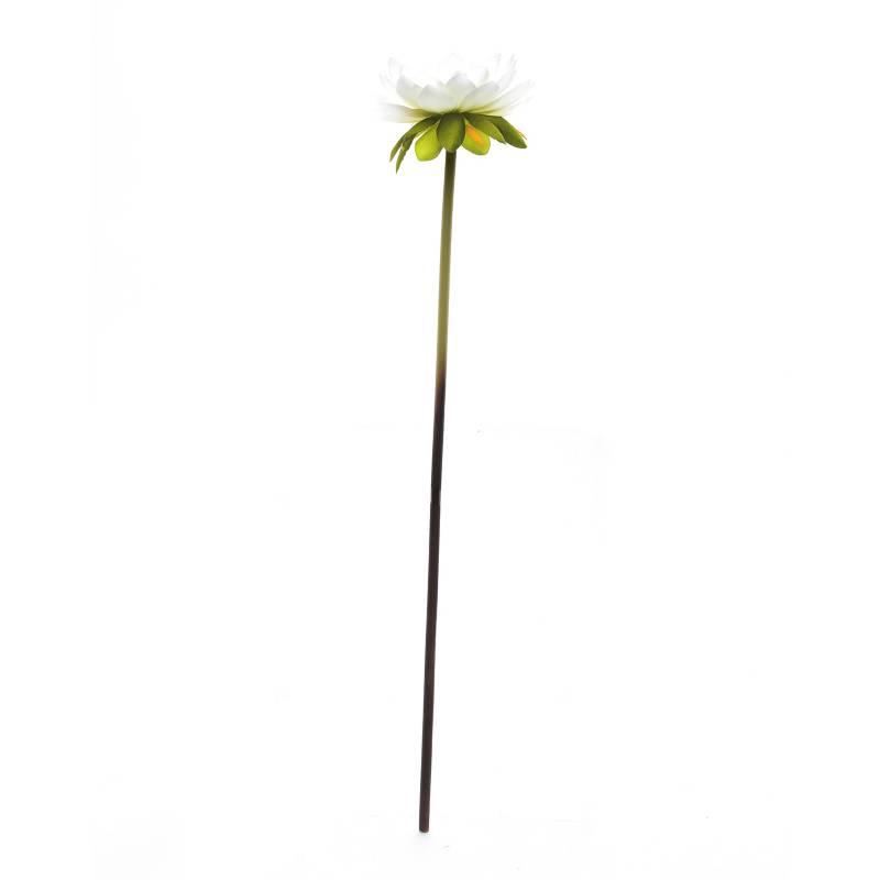 Mica - Flor Loto Blanca 58 cm