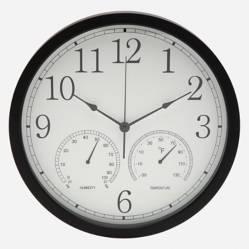 Reloj con Estaciones Blco 35 cm