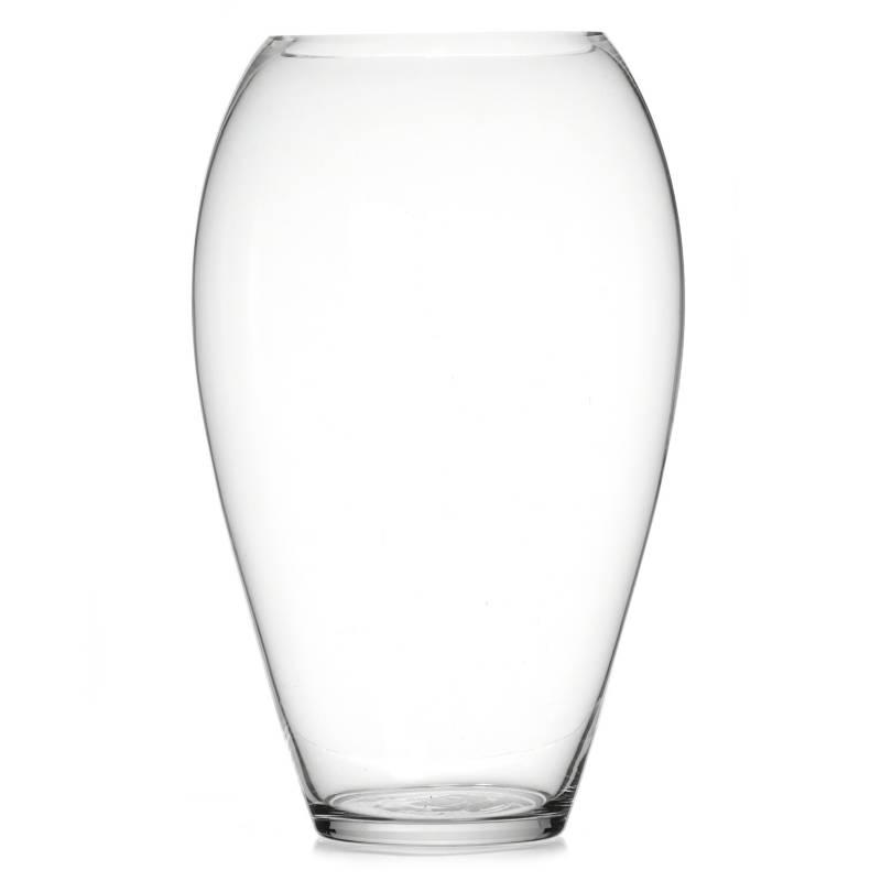 Mica - Florero Vidrio Ovalado 33 cm