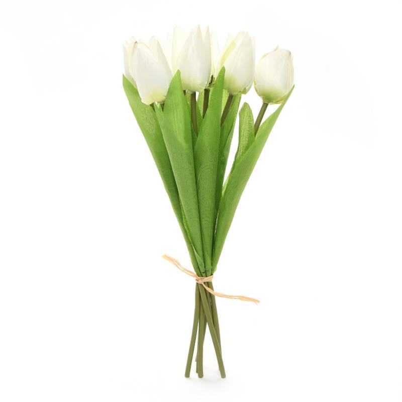 Mica - Ramo Tulipán 32 cm Amarillo