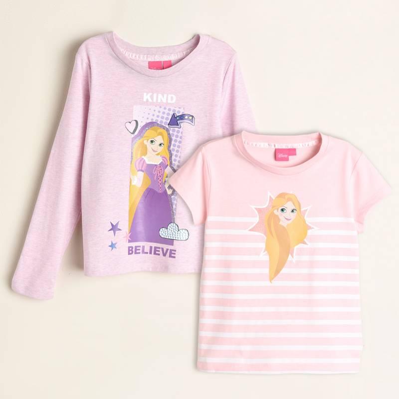 Princess - Camiseta Niña Pack x 2 Princesas