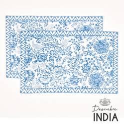 Set x2 Individual India 2 33 x 48 cm