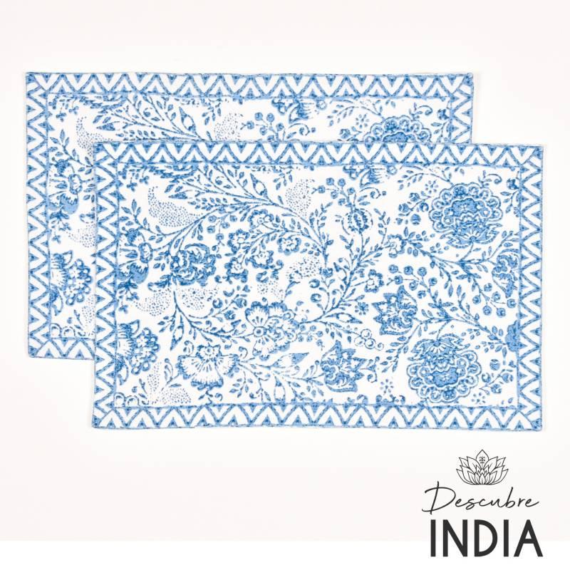 Roberta Allen - Set x2 Individual India 2 33 x 48 cm