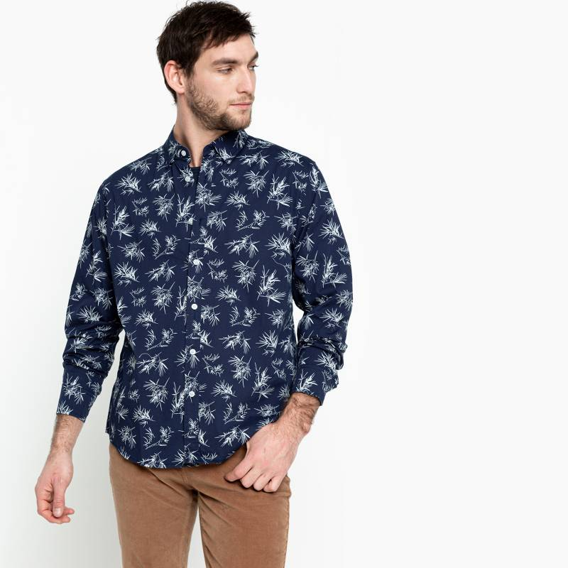 University Club - Camisa Casual Hombre Manga Larga University Club