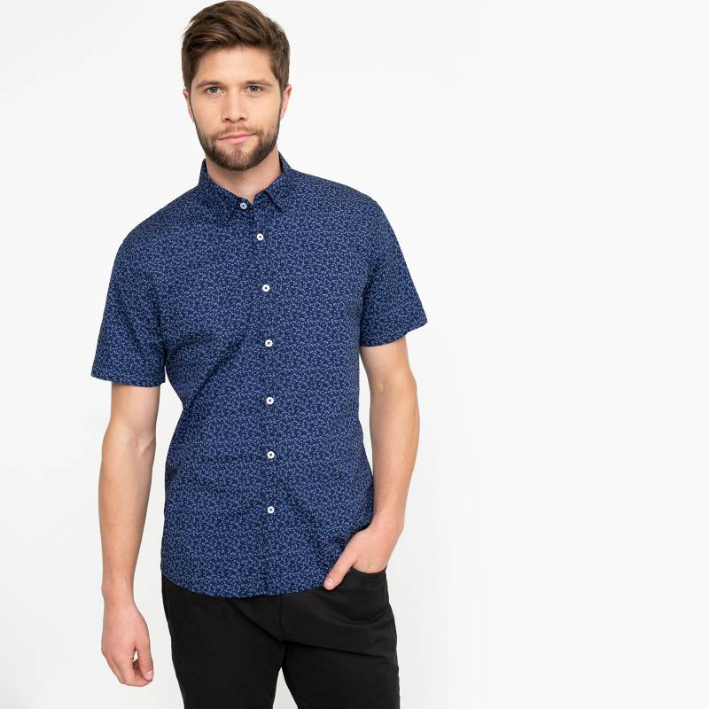 University Club - Camisa Casual Hombre Manga Corta University Club