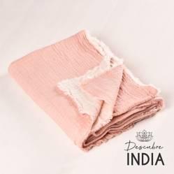 Manta Gasa Pink