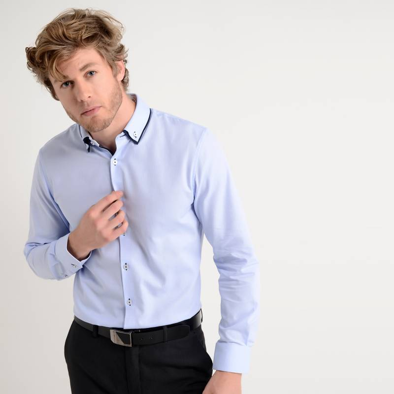 Basement - Camisa de Vestir Regular